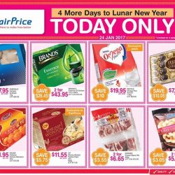 [NTUC FairPrice] As we progress closer to CNY, we bring you bigger and better offerings to #StretchYourDollar! We've handpicked festive essentials