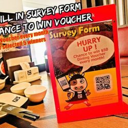 [Gyu-Kaku] Have you submitted Gyu-Kaku Survey From yet?Scan QR Code and submit online Survey From when you visited Gyu-