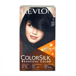 [VENUS BEAUTY] Revlon ColorSilk 11 Soft Black S$5.90 Long lasting color + shine Durable 100% gray coverage Ammonia Free