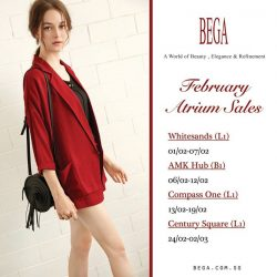 [BEGA] Our Atrium Sales  are coming back on 1st February! Come and visit us to enjoy the exclusive promotion! See you!#