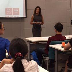 [StarHub] Learning from the Best. BBC News presenter Sharanjit Leyl giving the insider scoop to StarHub Youths on how she works