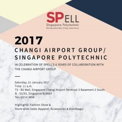 [SPELL] In celebration of SPELL's 6 year partnership with The Changi Airport Group, we warmly invite you to join us