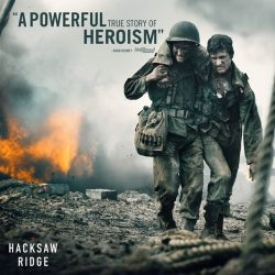 [Shaw Theatres] One hero saved 75 soldiers in a single day, while entirely unarmed. #HacksawRidge is NOW PLAYING.