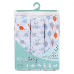 [Mothercare] Ideal Baby by Aden & Anais Muslin Swaddles are extra-soft and breathable, wash after wash. You'll love them as
