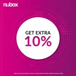 [Nübox] New Year new gadgets! This is the time to trade-in your old gadgets with us!Receive an extra 10%