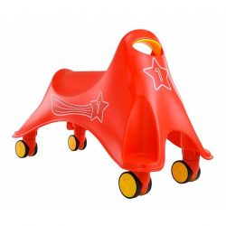 [Mothercare] Develop your little one's motor skills with ELC Red Whirlee. The 360 degree rotating castor wheels allows your little