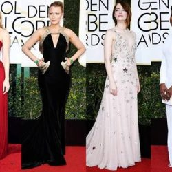 [3LAB] It was a night of fashion and fun, as award season kicked off at last night's Golden Globes ceremony.