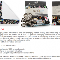 [Nichebabies] RESTOCK!! Introducing Kanga Care TokiSpace Changing Pad!GREAT FOR: Replacing the free changing pad that came with your diaper bag