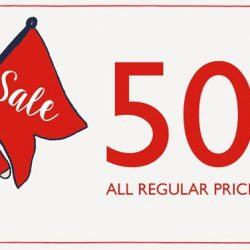 [Cath Kidston Singapore] SALE - Enjoy a whopping 50% off ALL regular priced items in Cath Kidston stores now, available while stocks last!You