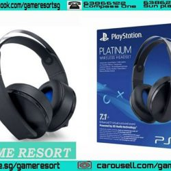 [GAME RESORT] Sony Playstation Platinum Wireless Headset,The Platinum Wireless Headset redefines premium gaming audio by creating an incredibly rich and detailed