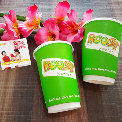 [Boost Juice Bars Singapore] How to win you and your bestie $88 this Chinese New Year? Just buy 2 Boosts and grab the code