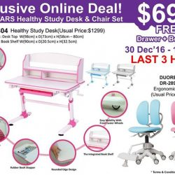 [Ergoworks] LAST 3 HOURS! Before this AMAZING Great Deal end!Hurry! Before it's gone!BUY NOW @ http://ergoworks.com.sg/