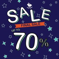 "[Jelly Bunny] TOMORROW! Let's have more fun accessorizing yourselves with Jelly Bunny ""END OF SEASON"" FINAL SALE UP TO 70%""!!!Enjoy"