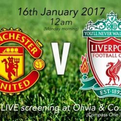 [Olivia & Co] LIVE EPL SCREENING Nearby Sengkang? Head down to Compass One where the hottest match will be on this Sunday!!! We'