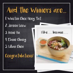 [Bangkok Jam] Thank you everyone for sharing with us on your favorite dishes from Bangkok Jam! We would like to congratulate our