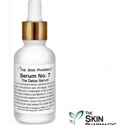 [The Skin Pharmacy] Is your skin battling air pollution, sun exposure and dust particles everyday? SERUM No.7 (The Detox Serum) is the