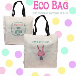 [Gingersnaps] Free Eco bag with purchase of regular-price items, minimum $100 at Paragon, United Square and Raffles City.