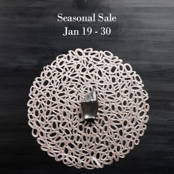 [Chilewich] Don't miss out! Our seasonal sale is on now. Shop for tabletop and flooring. In store and online. https://