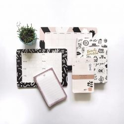 [The Paper Bunny] NOT TOO LATE TO PLAN AHEAD - take 20% off all desk planners, notepads and all that's left of our
