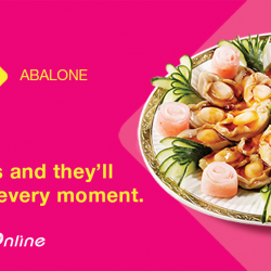[NTUC FairPrice] Nothing spells reunion dinner like feasting on abalone as a family! Take your pick from gift sets, braised abalones and