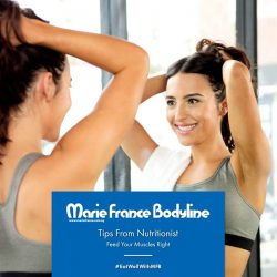 [Marie France Bodyline] Thanks to our flopped arms toning plan in 2016, this year we truly learned that toned arms are made in