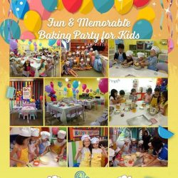 [WESTGATE KIDS CLUB POWERED BY GENIUS R US] Hey Parents, looking for ideas to celebrate your little one's birthday this year?  Do consider Baking Party for your