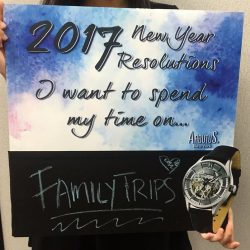 [Arbutus] Because time spent with family is time well spent.Watch out for Arbutus New Year's Resolutions Board at TANGS