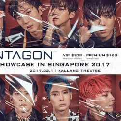 [SISTIC Singapore] Tickets for PENTAGON FIRST SHOWCASE IN SINGAPORE 2017 go on sale on 14 Jan 2017 10am. Get your tickets through