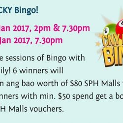 [Lamkins] The Seletar Mall is having a Chinese New Year Bingo event, its free to join, so why not come down