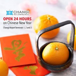 [Changi Recommends] We are open 24 hours throughout Chinese New Year at our Changi Recommends booths located in Changi Airport Terminals 1,