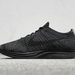"""[I Run] The Nike Flyknit Racer """"triple-black"""" is releasing tomorrow 13/1/17. Priced @ $239 and come from US 4 to"""