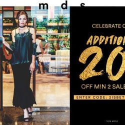 [MDSCollections] Shop must-have styles for Lunar New Year. Get additional 20% off min 2 sale items till 24/01. Use
