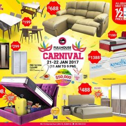 [FULL HOUSE HOME FURNISHINGS] HAPPENING THIS WEEKEND!! ✨FULLHOUSE CARNIVAL SALES!!  ✨Blk 114 Aljunied Avenue 2, Level 2, S380114 (Above NTUC) ⏰ ⏰ ⏰11AM - 9PM ONLY!!! ⏰ ⏰ ⏰ From