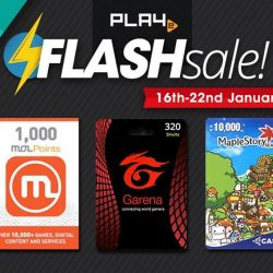 [PLAYe] Our very first Flash of the year has begun! This week, get your favourite game credits at a discounted price.