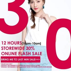 [Purpur] The CNY FLASH SALE! 12 HOURS STOREWIDE 30% ONLINE FLASH SALE IS HAPPENING RIGHT HERE RIGHT NOW:-SALE ENDS TOMORROW