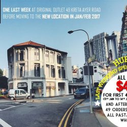[49 Seats] REALLY? $4.90 on all pasta? Celebrate our last week at 49 Seats original outlet at 49 Kreta Ayer Road