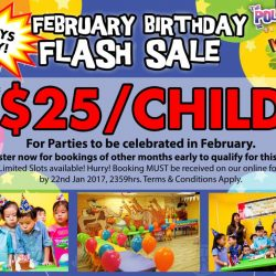 [The Polliwogs] February Birthday Parties SPECIAL!Does your child's birthday falls in February? Great news because The Polliwogs will be launching
