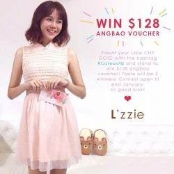 [L'zzie] Are you decked in L'zzie's outfit this Lunar New Year? Share your outfit by #LzzieOOTD with us and