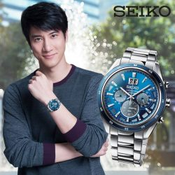 [All Watches / Aptimos] The new SEIKO Criteria men's chronograph series is an ideal and versatile piece to take you to both work