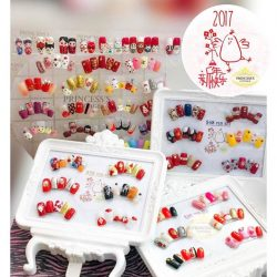 [Princess's Cottage: The Nails Story] Chinese New Year designs done by all Nailartists at Tampines Martoutlet. (Promotion sets designs belongs to Tampines Mart only, the