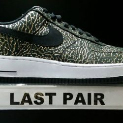 [Limited Edt] Air Force 1, US 12 Retail: $139, Discounted: $79 Last pair deal, additional 15% off.