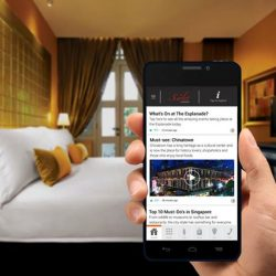 """[Scarlet City] The Scarlet Singapore provides complimentary """"Handy"""" smartphones to all our in-house guests. This value-add Handy phone service offers"""