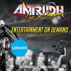 [SISTIC Singapore] Catch Indian film composer & singer, Anirudh, alongside local and international artists, perform live at Max Pavilion, Singapore Expo on 21