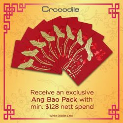 [Crocodile] Prosperous Giveaway! Let's celebrate the Year of the Rooster together with Red Packet Giveaway. Get this exclusive Crocodile Ang