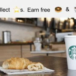[Starbucks Singapore] Say hello to sweet rewards. Use your Stars to redeem for 1 food or drink item with every 60 Stars
