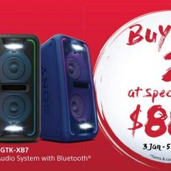[Sony Singapore] Usher in this Chinese New Year by throwing the perfect house party with the GTK-XB7 and party till the