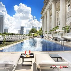 [Singtel] HungryGoWhere is rewarding 2 lucky winners with a 1-Night stay at The Fullerton Hotel Singapore and 4 winners with