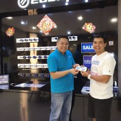 [Eubiq] Some customers have come to collect their entitled NTUC vouchers over the weekend. Thank you for your support.