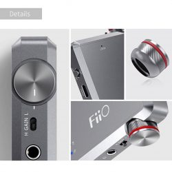 [Stereo] The A5 headphone amp is among FiiO's latest product releases and it represents an improved version of the powerful,