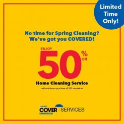 [Courts] Interested in enjoying this limited time offer for Home Cleaning Services from COURTS cover but not sure what it is